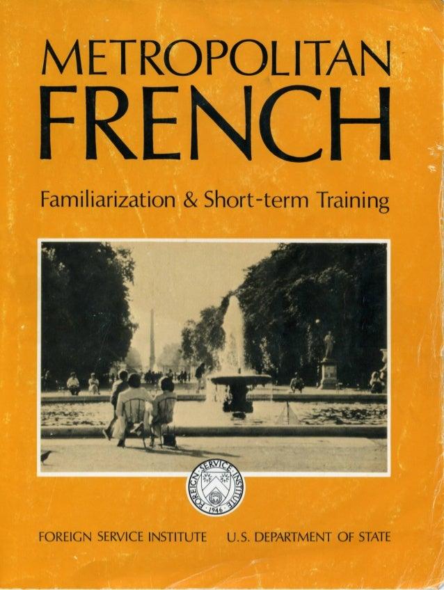Learn French - FSI FAST Metropolitan Course