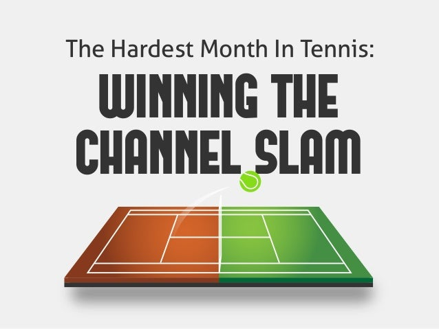 The Hardest Month In Tennis: WINNING THE CHANNEL SLAM