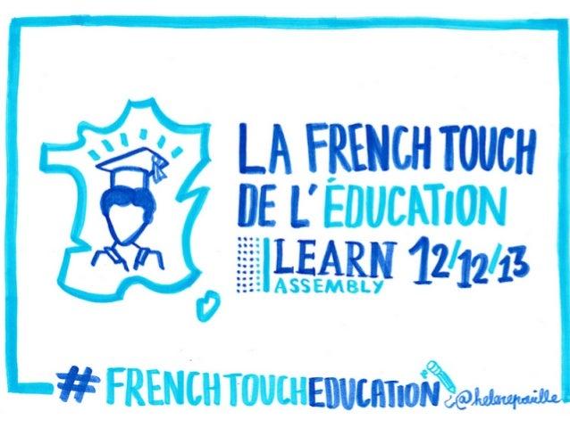 La French Touch de l'éducation