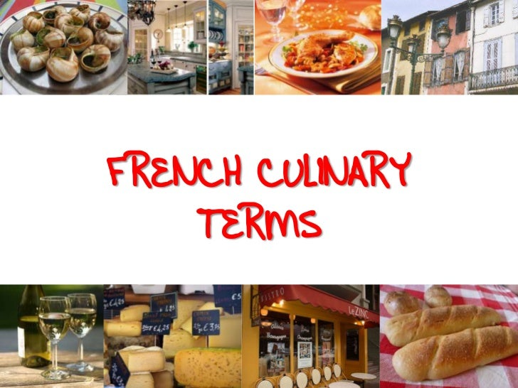 french terms for cooking
