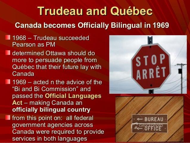 Canadian Bilingualism?