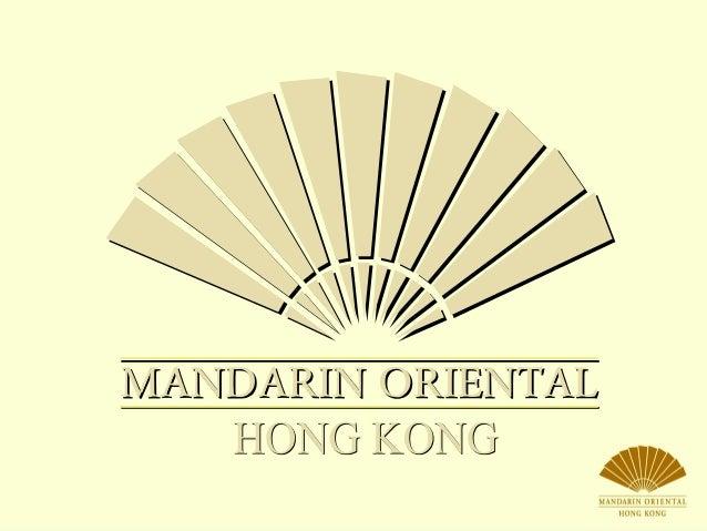 Un service récompensé maintes fois ainsi qu'un héritage Oriental légendaire Mandarin est synonyme de service irréprochable...