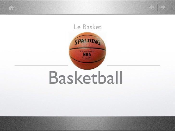 Le BasketBasketball