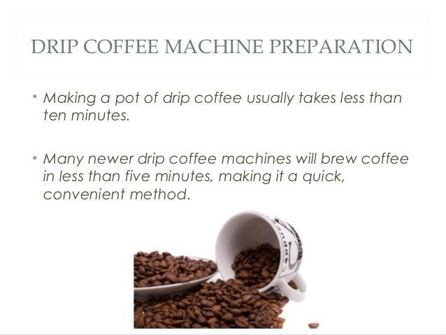 French Press Vs. Drip Coffee Machine