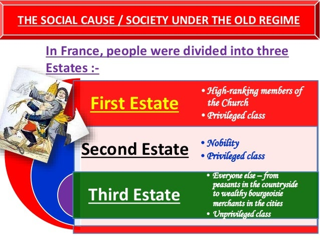 social disparity major cause of the french revolution Economic inequality: the widening gap between rich and poor  which is the cause of the accelerated growth of economic inequality,.