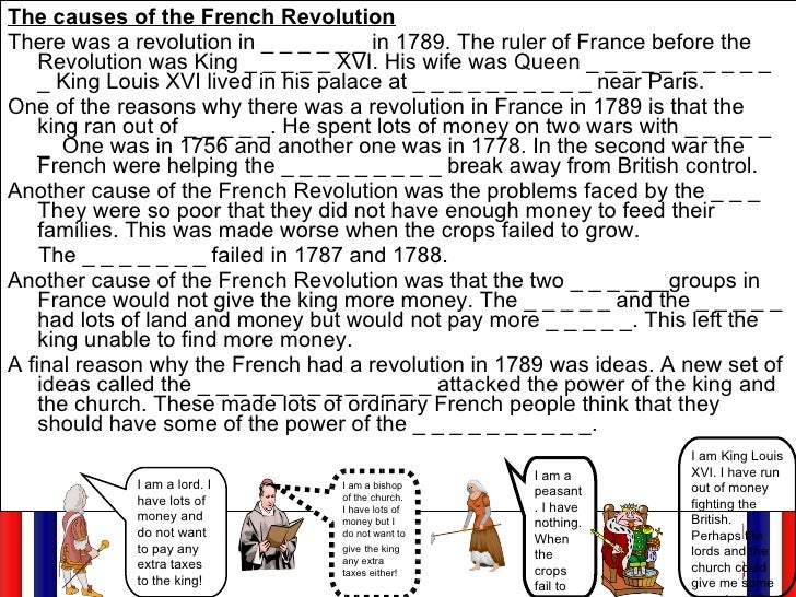 an overview of the causes of the french revolution of 1789 What were the causes of the french revolution the french revolution the french revolution began due to many different reasons the french revolution of 1789.