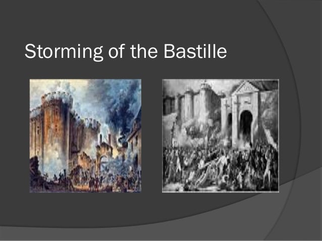 the bastille essay Essay writing guide  the heavily symbolic storming of the bastille which happened on july 14th was caused by the threat of counter-revolution and the terrible.