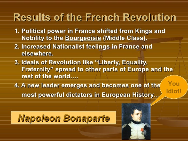 What, in the French Revolution, should i write three paragraphs on?