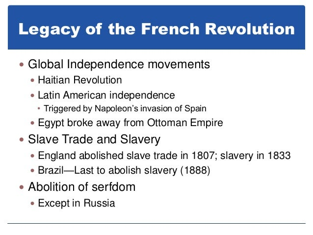 french revolution vs the haitian revolution Haitian revolution, series of conflicts between 1791 and 1804 between haitian slaves, colonists, the armies of the british and the french colonizers, and a number of.