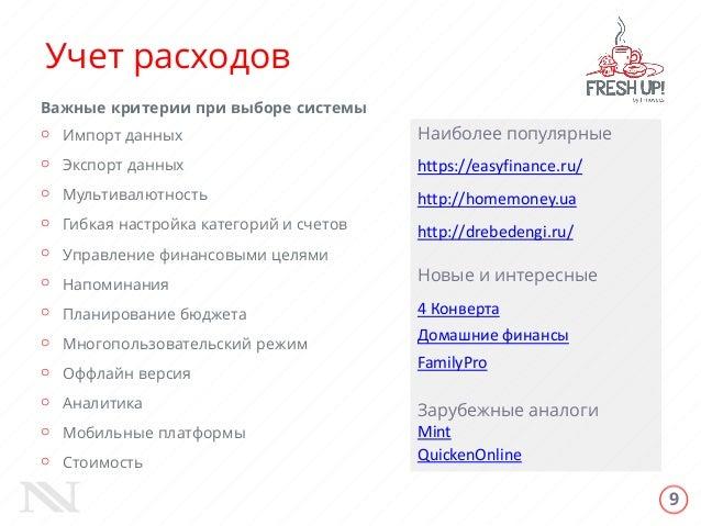 Домашняя бухгалтерия - drebedengi - 4PDA