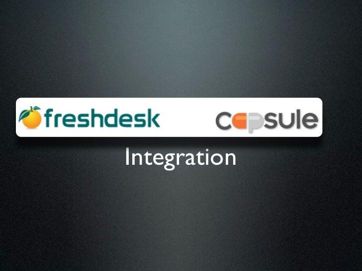 Freshdesk Capsule CRM Integration