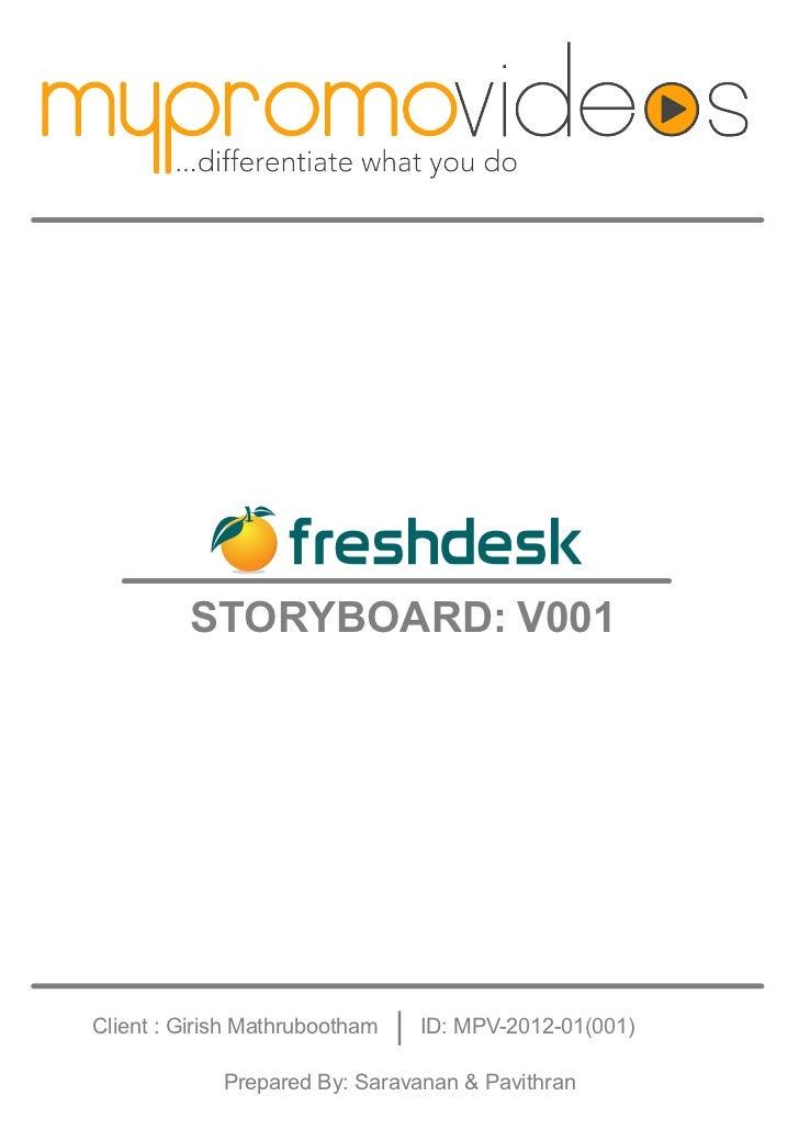 Freshdesk storyboard