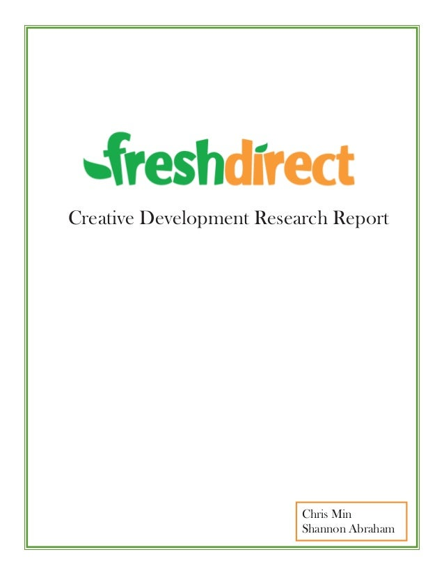 Chris MinShannon AbrahamCreative Development Research Report