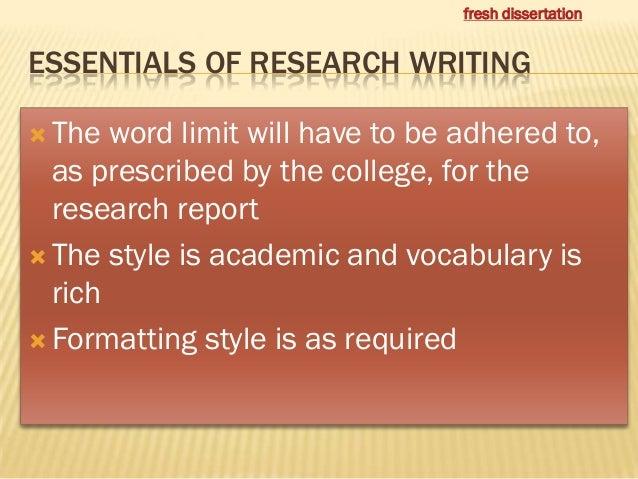 Academic Context Dissertation