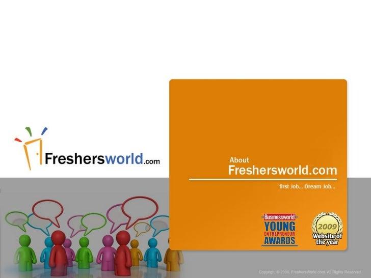 Freshersworld.com for Students