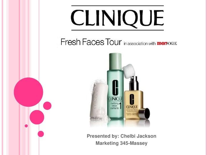 Clinique Fresh Faces Tour