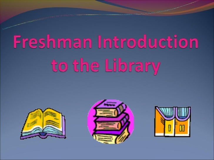 Library RulesNo food or drink in the libraryNo Study hall passesNO computer games, Facebook, or videos during the schoo...