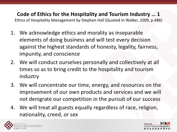 ethics and code of conduct essay