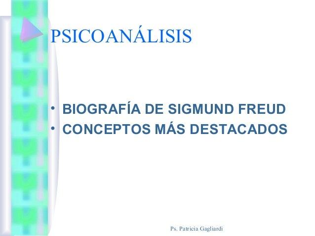 Sigmund Freud. Presentación del psicoanálisis