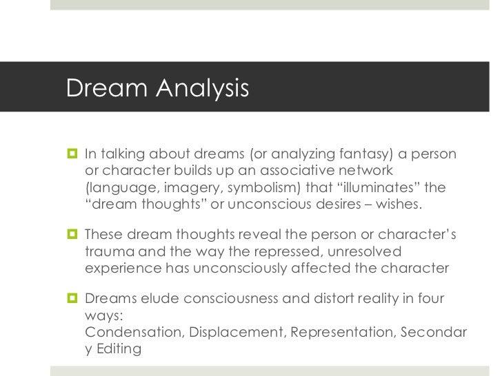Dream analysis essay
