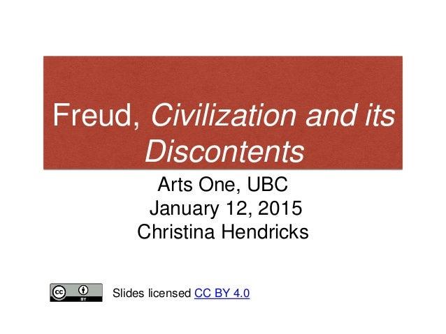 essay civilization and its discontents