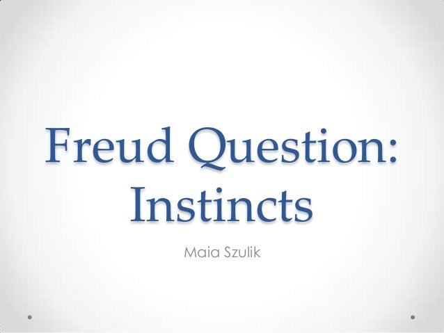 Freud instinctspresentation
