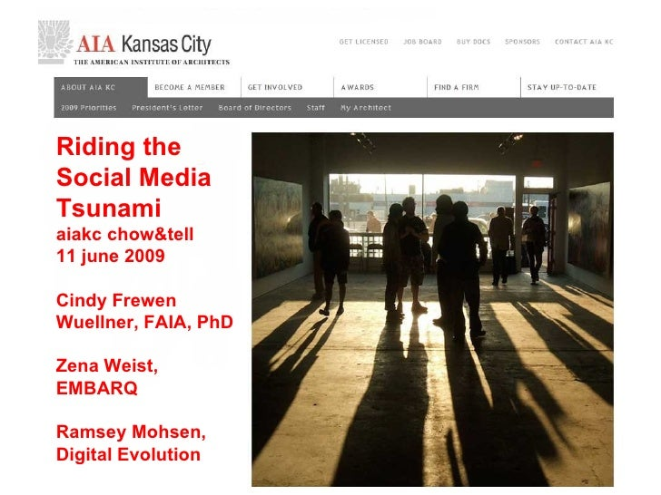 Frewen AIA KC Social Media Presentation
