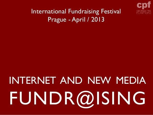 Internet Fundraising (International FR Festival, Prague)