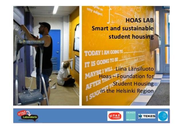 [Nordic GBC Conference 2013] Liina Länsiluoto: Smart & sustainable student housing