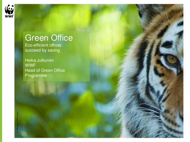 Green Office                              Eco-efficient offices                              succeed by saving            ...