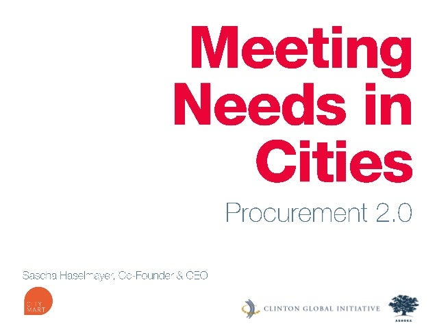 [Nordic GBC Conference 2013] Sascha Haselmayer: Public procurement 2.0 - Global solutions at municipalities' fingertips