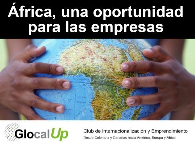 África, una oportunidad para las empresas