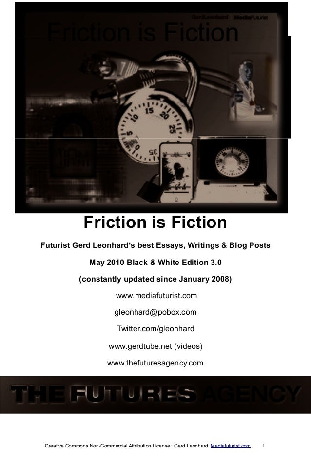 Friction is fiction_book_gerd_leonhard bw 2010