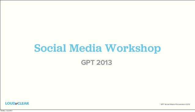 Friday gpt social mediapresentation