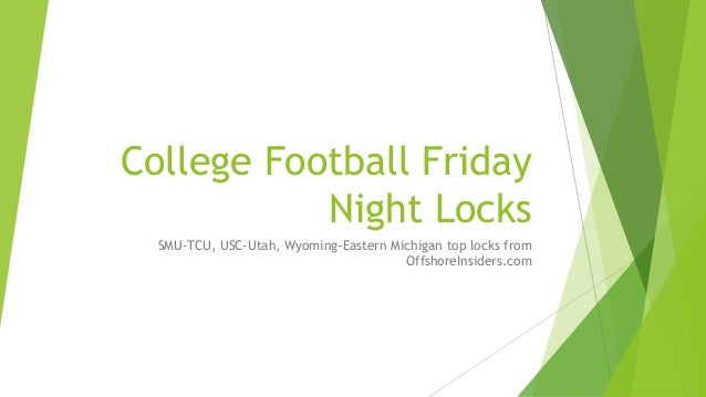 what is cfb friday night college football games