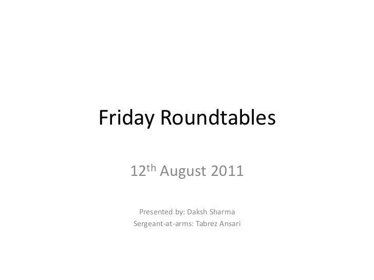 Friday roundtable oresund_bridge