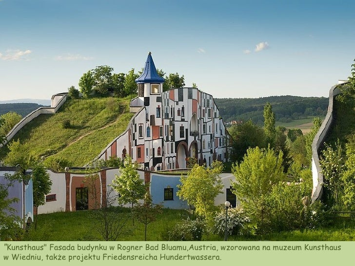 Friedensreich hundertwasser architektur for Hundertwasser architektur