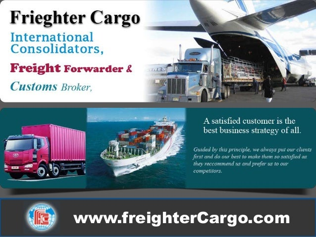 Frieghter cargo