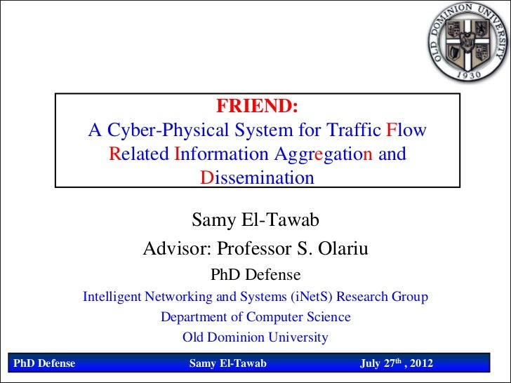 FRIEND:              A Cyber-Physical System for Traffic Flow                Related Information Aggregation and          ...