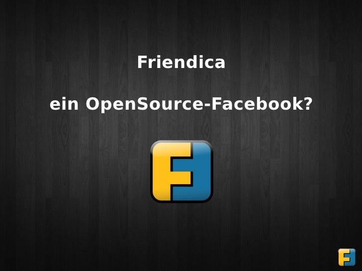 Friendicaein OpenSource-Facebook?