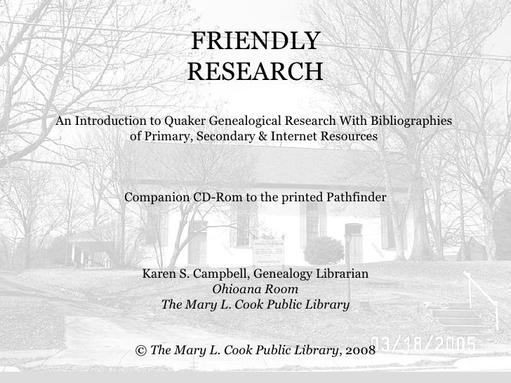 Friendly Research