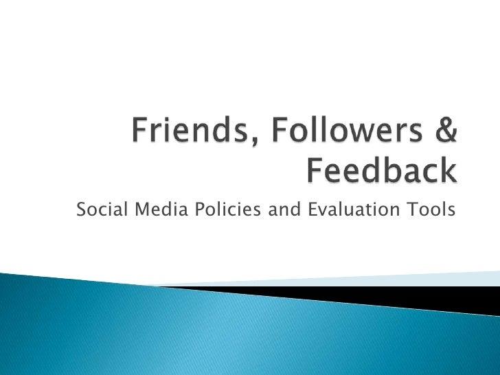 Friends, followers & feedback presentation(2)