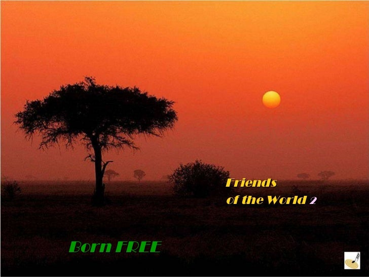 Friends    of the World   2 Born FREE
