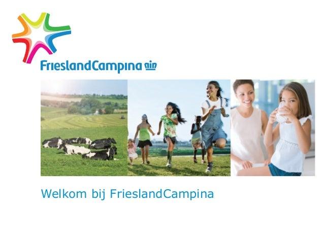 Welkom bij FrieslandCampina