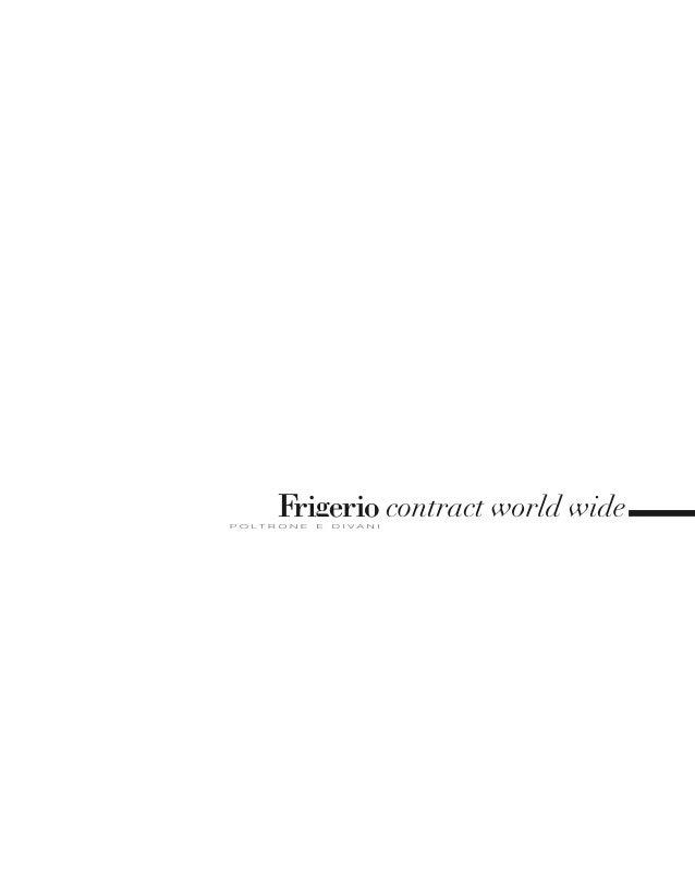 Frigerio Contract Portfolio 2013