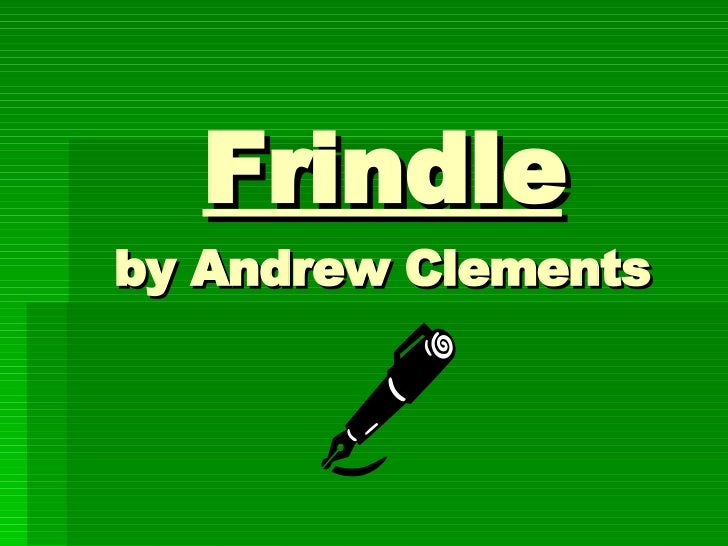 Frindle Lessons