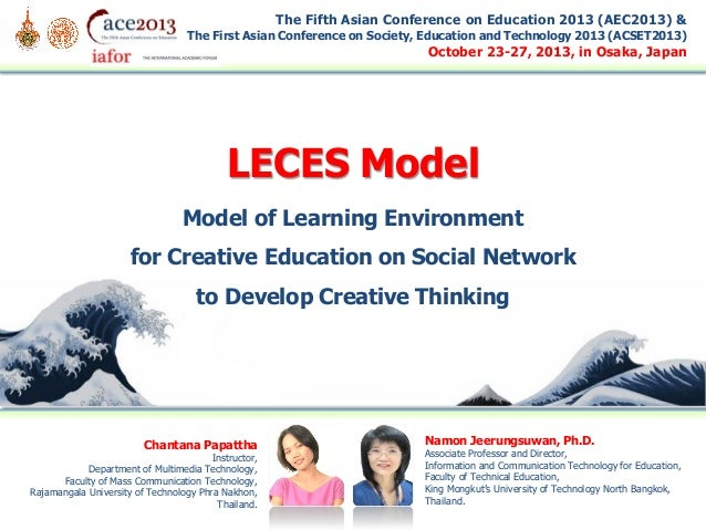 The Fifth Asian Conference on Education 2013 (AEC2013) & The First Asian Conference on Society, Education and Technology 2...
