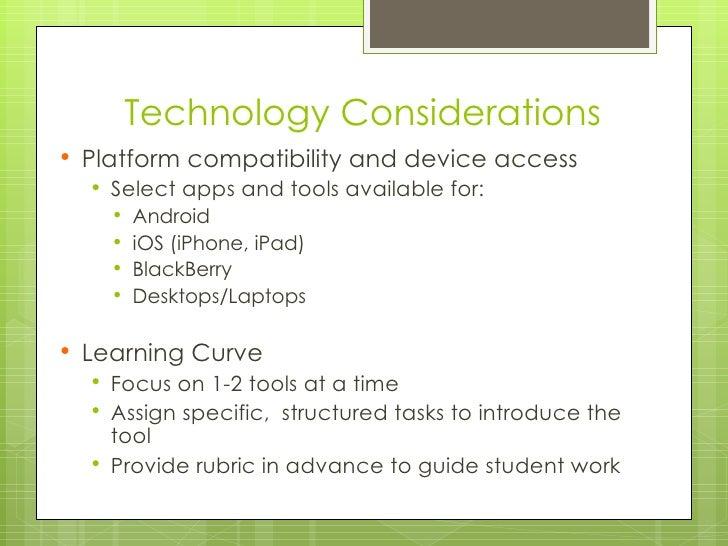 technology considerations image