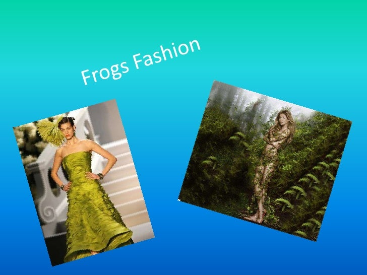 Frogs Fashion <br />