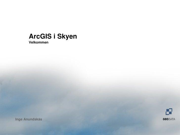 Frokostseminar GIS i skyen, 2011
